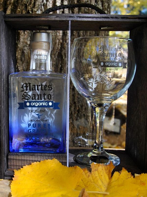 Ginebra, vodka, ron y whisky cien por cien ecológicos