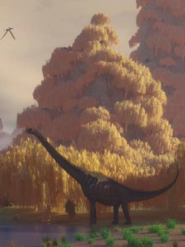 Descubren el pie más grande jamás encontrado de dinosaurio, con un metro de ancho