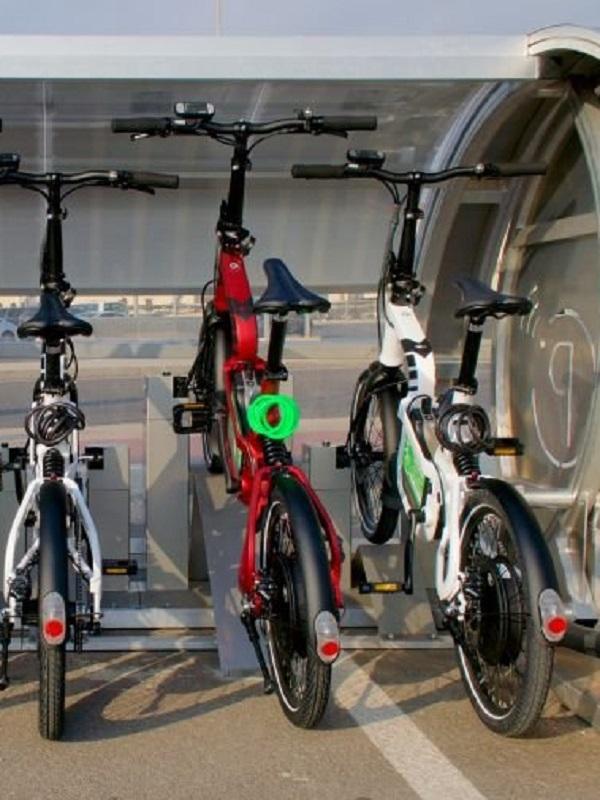 Nuevo servicio de bicicletas eléctricas para cruceristas en Valencia