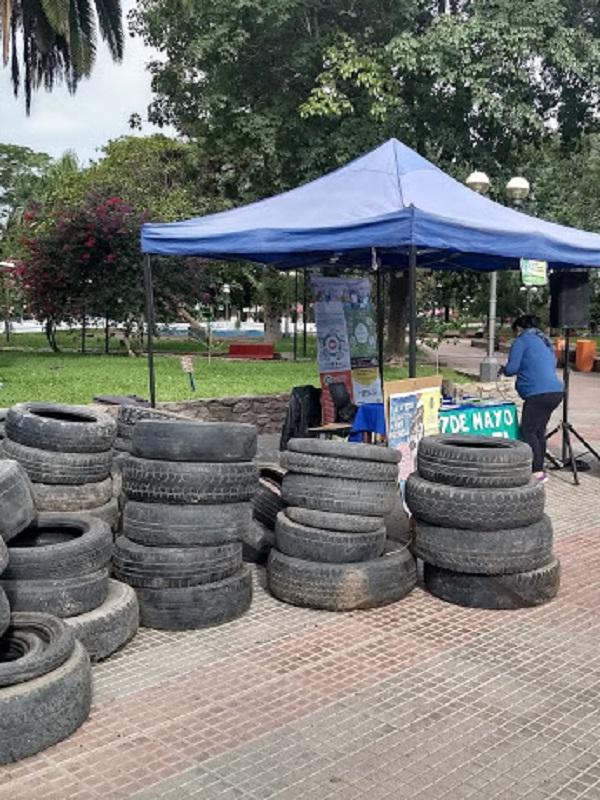 Argentina: Más de 700 neumáticos fueron recuperados en un nuevo