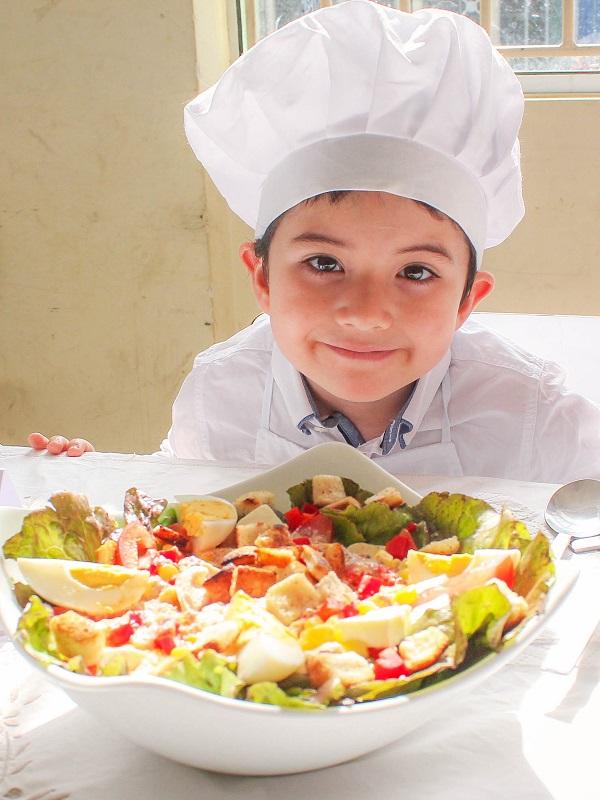 II Concurso Escolar de Recetas Saludables (Navarra)