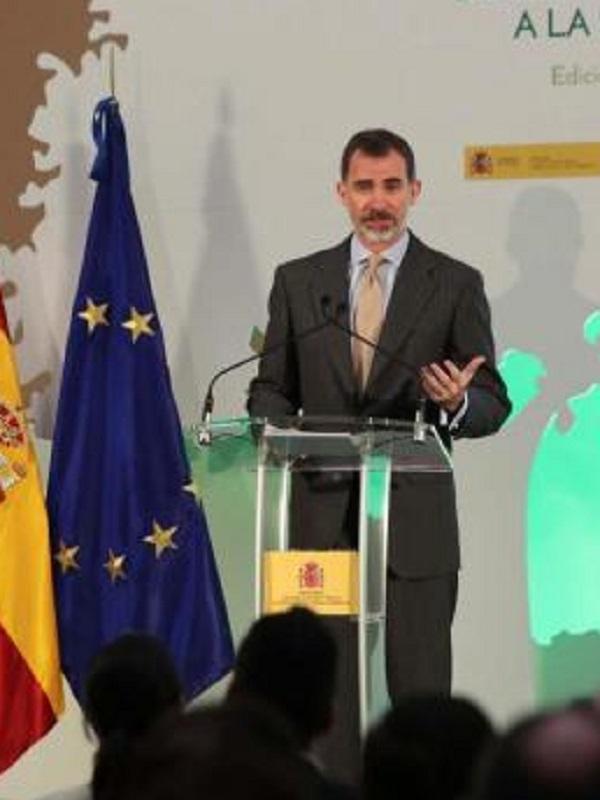 Felipe VI con la ecología y sostenibilidad