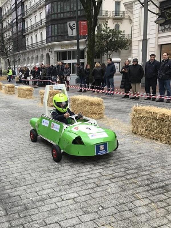 Vitoria acogerá este sábado el primer Campeonato de vehículos eléctricos para centros de Formación Profesional