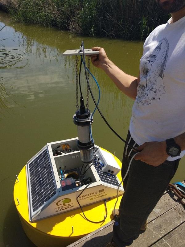 Tecnología verde, una boya con sensores monitoriza en tiempo real el agua de L'Albufera