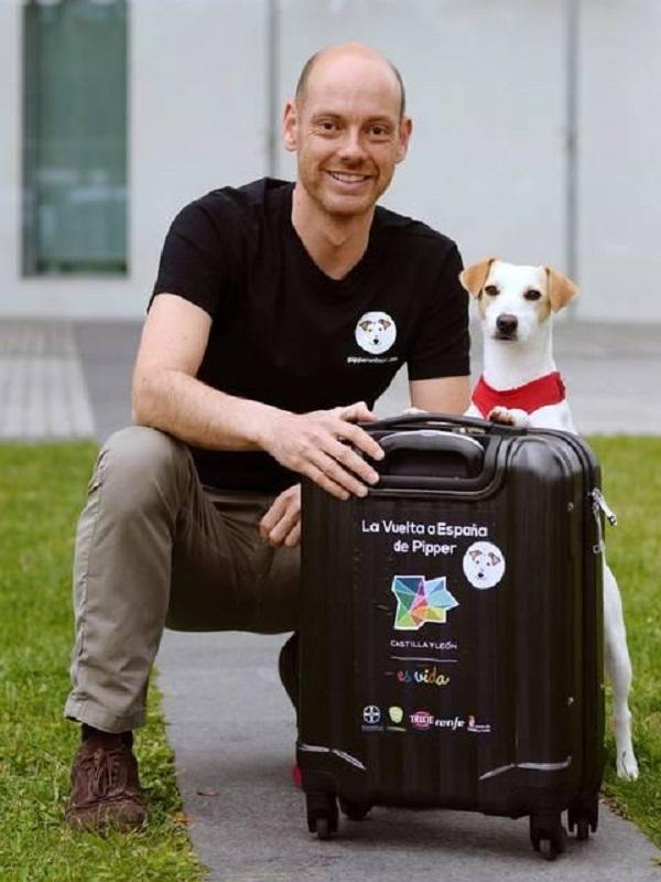 Pipper, el simpático perrito que será el embajador del turismo para mascotas en Castilla y León