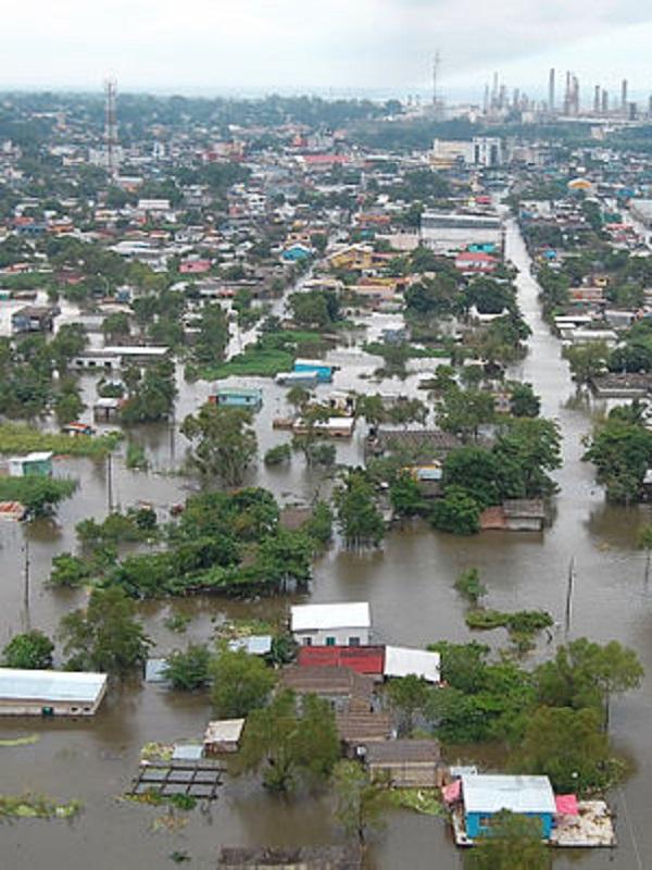Ciclones tropicales más lentos provocarán mayores inundaciones