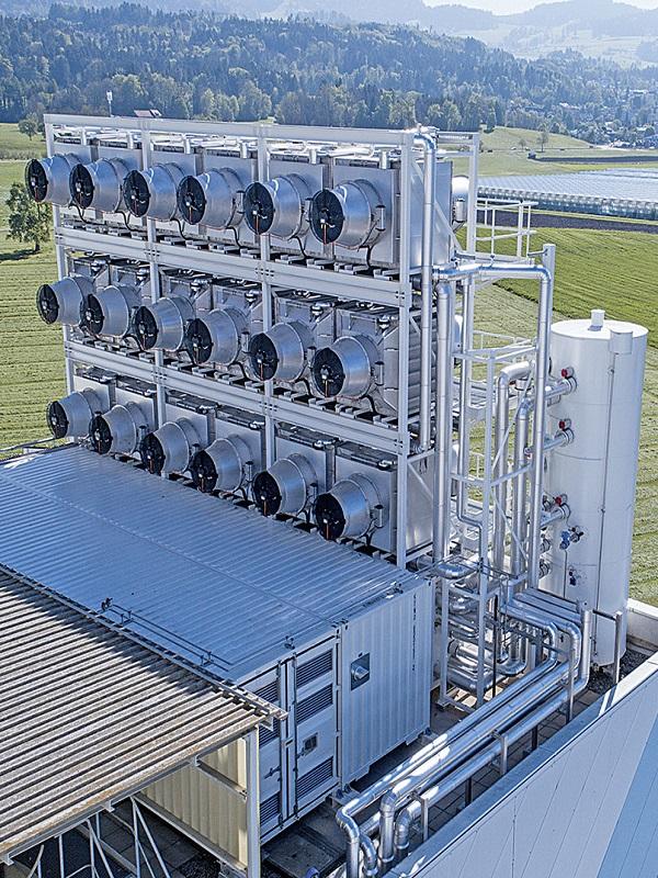 Tecnología verde para succionar CO2 del aire y conseguir combustible