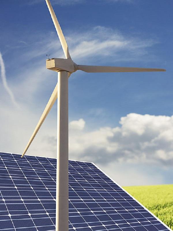El Papa Francisco con las energías renovables