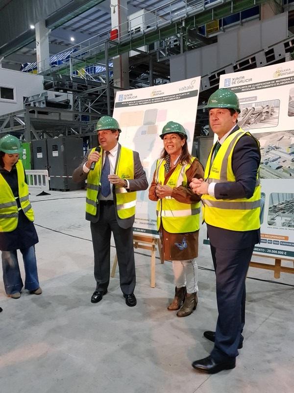 Galicia. Sogama referente absoluto de las infraestructuras industriales de tratamiento de residuos