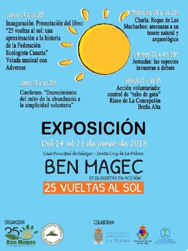 La Federación Ecologista Canaria, BenMagec-Ecolgistas en Acción, celebra su 25 aniversario