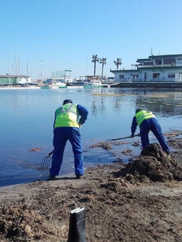 Ligera mejoría medioambiental del Mar Menor