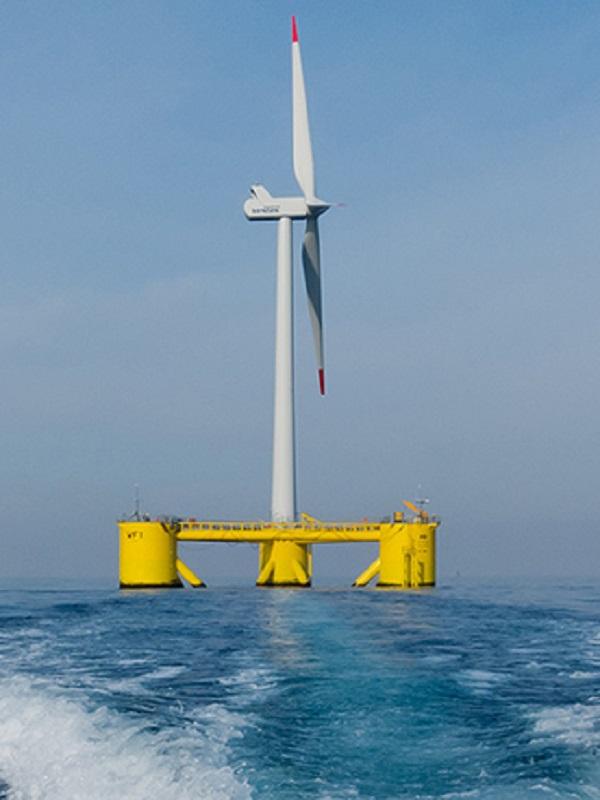 Biscay Marine Energy Platform (BiMEP) llevará a cabo investigaciones de aerogeneradores flotantes