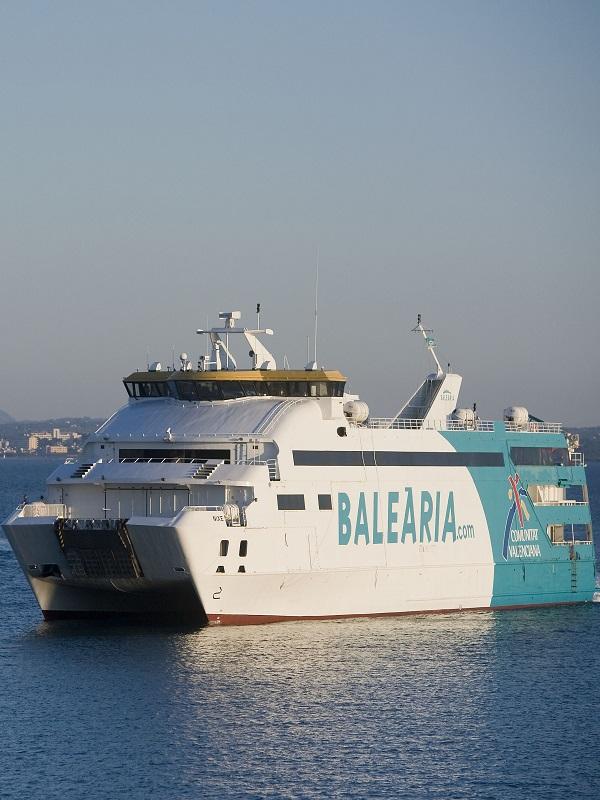 Baleària apuesta por un transporte marítimo más ecoeficiente