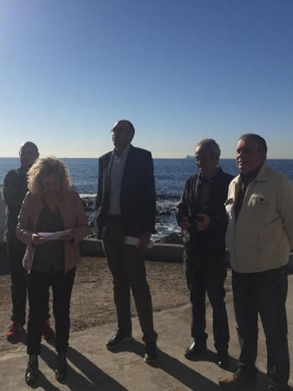 El grupo de IU-Málaga pide apoyar acciones para crear una reserva ecológica en el roquedal de los Baños del Carmen