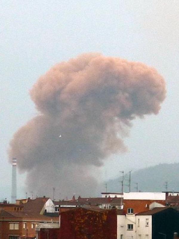 Una noche horrorosa de contaminación por todo Oviedo