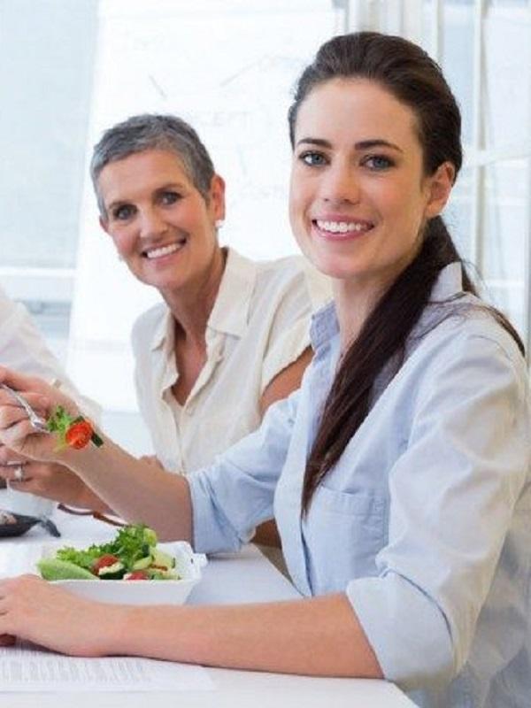 ¿Quién dijo qué no se podía comer de forma saludable en la oficina?