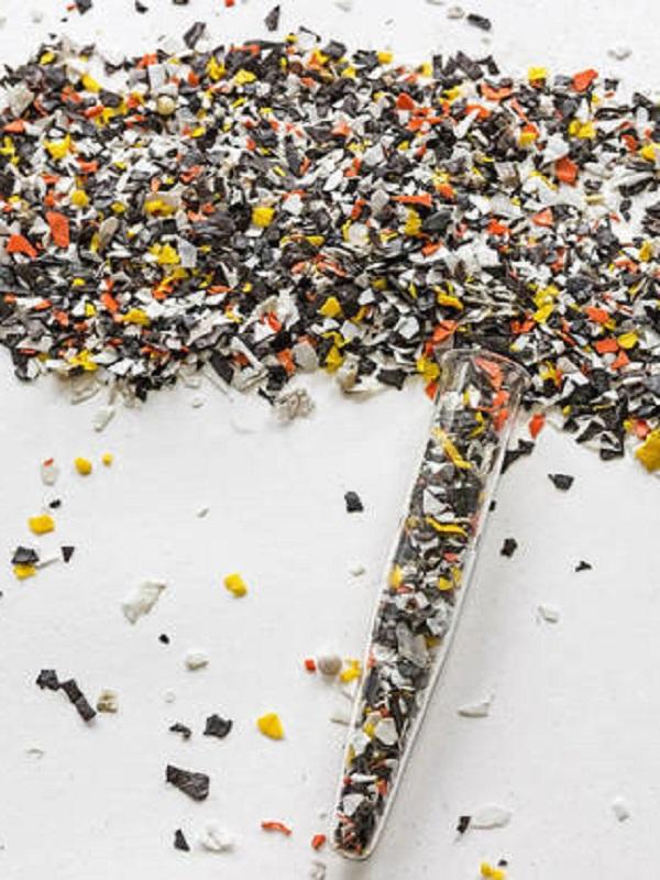 1er plato microplásticos, de segundo microplásticos, y de postre microplásticos
