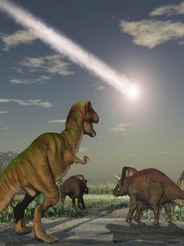 El meteoro que extinguió a los dinosaurios