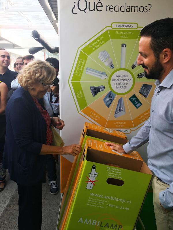 Ambilamp, el referente español en reciclaje de lámparas y luminarias