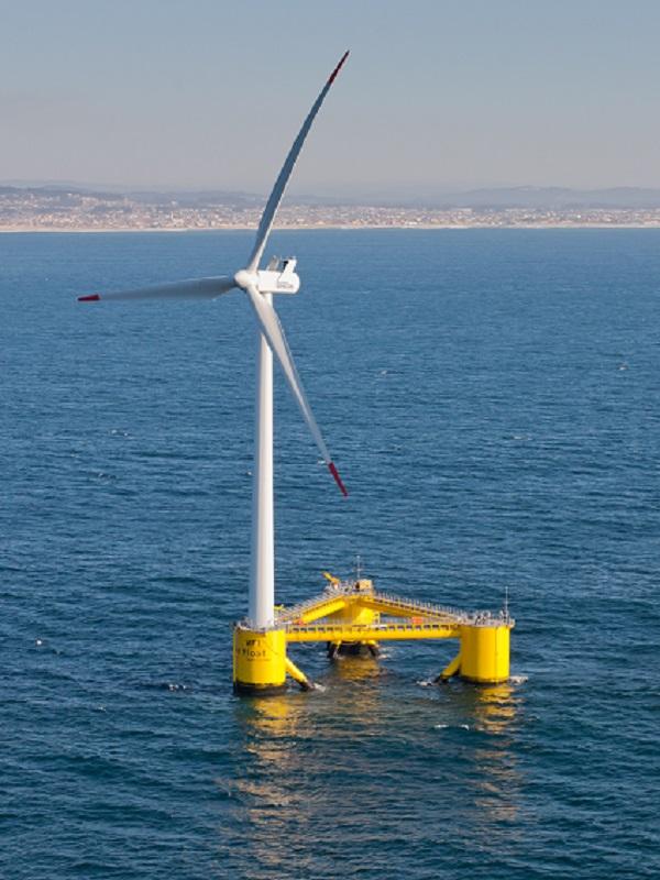 España suministra los primeros jackets para el mayor parque eólico marino del planeta