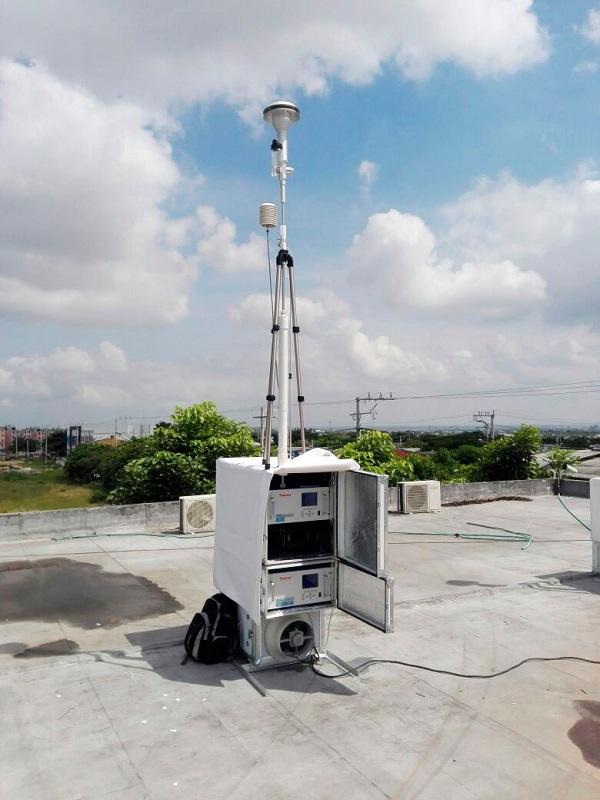 Andalucía implementará más estaciones de medida de calidad del aire