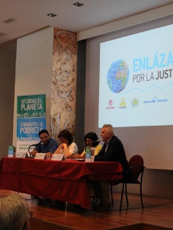 Campaña Si cuidas el planeta, combates la pobreza