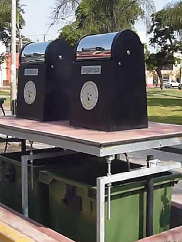 Renovación de contenedores subterráneos en Santander