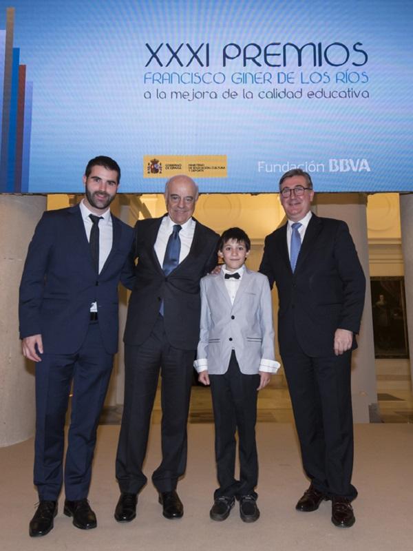 Fundación BBVA entregan los Premios Francisco Giner de los Ríos a la mejora educativa