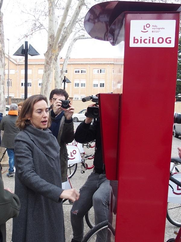 Logroño arranca el BiciLOG