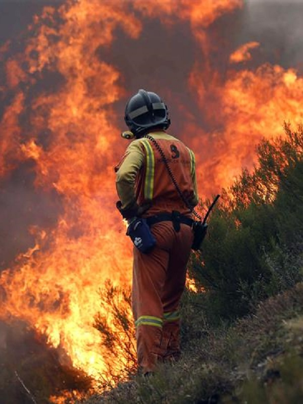 Diversos incendios forestales en Cantabria