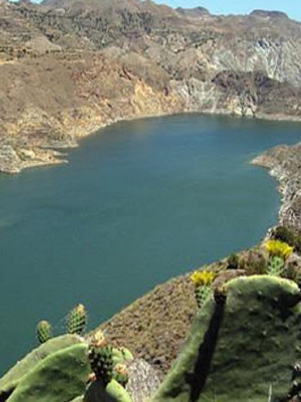 Trasvase del embalse del Negratín al de Cuevas de Almanzaora