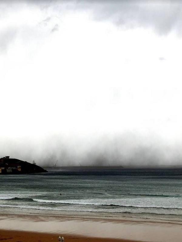 Un 2.100 % dispararon las nubes de carbón la contaminación ayer en Gijón