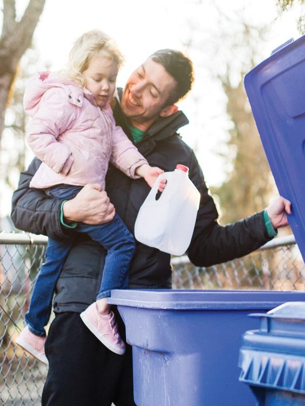 La Mancomunidad de Montejurra trabaja duro para la recuperación de los residuos domésticos generados
