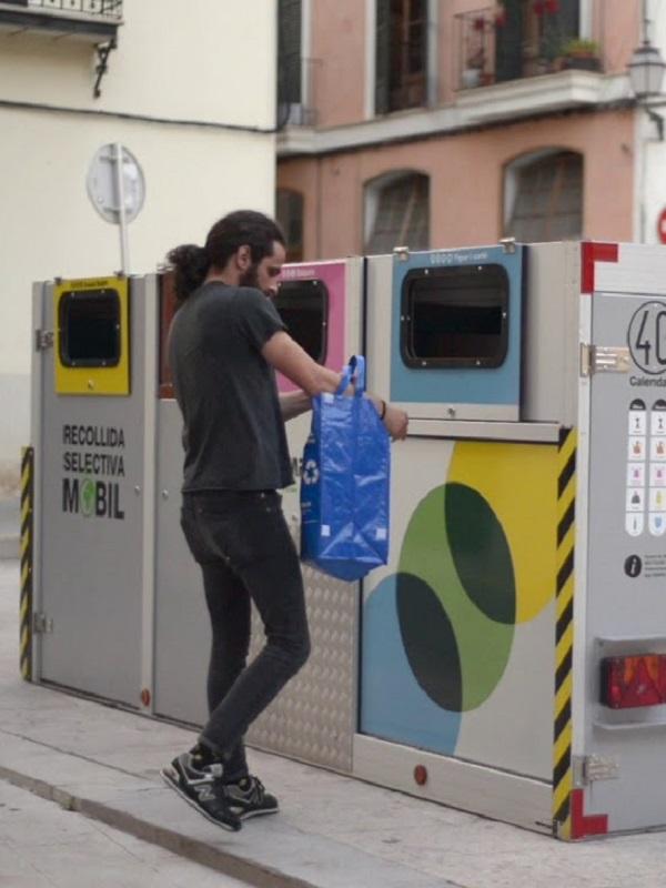 El barrio de la Seu de Palma de Mallorca arranca la segunda fase de la recogida selectiva móvil