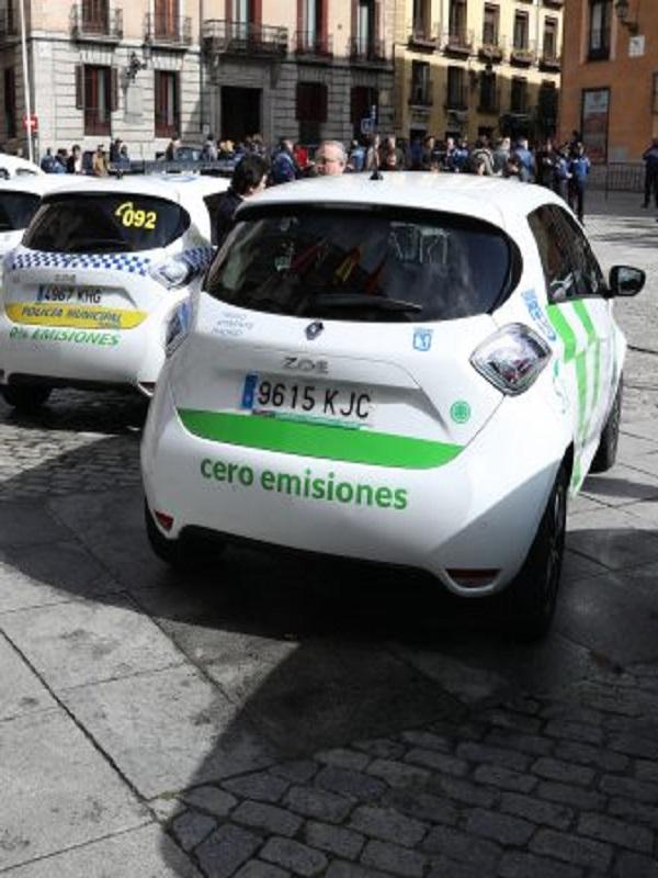 Madrid incorpora 78 vehículos eléctricos a su flota