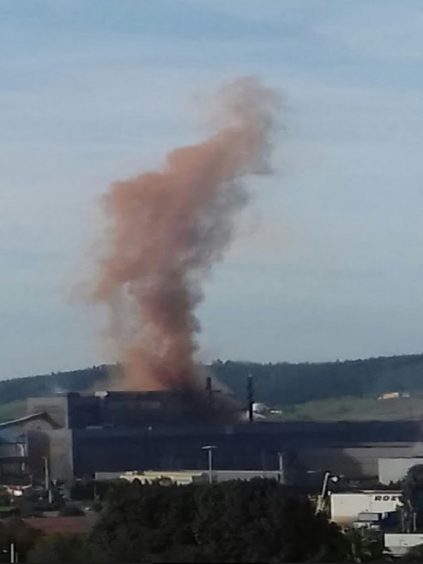 Asturias. Nueva nube contaminante de Arcelor en Carreño