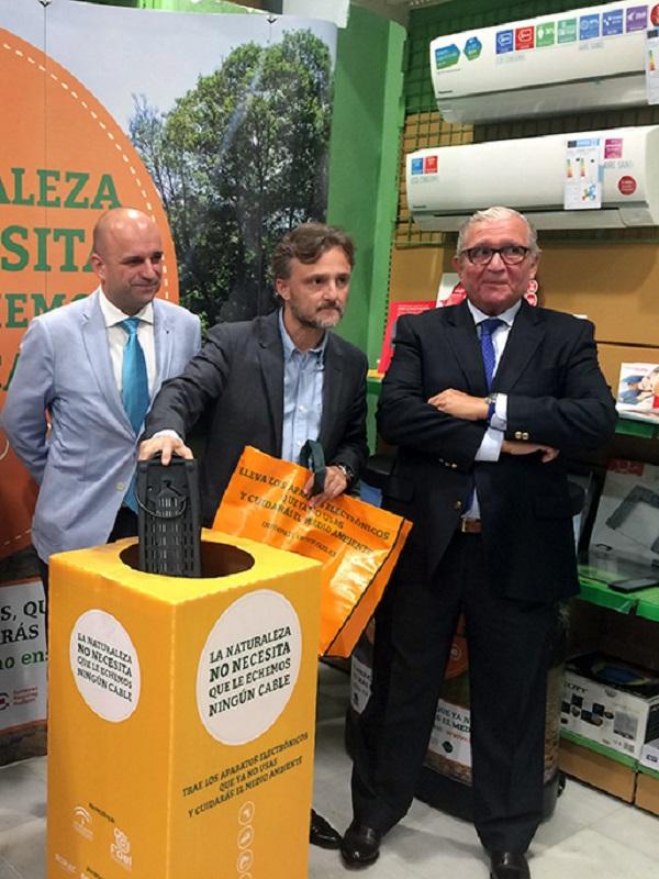 Andalucía fomenta el reciclaje de residuos eléctricos