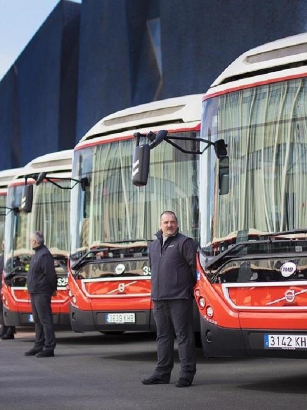 TMB (Barcelona) incorpora vehículos más sostenibles