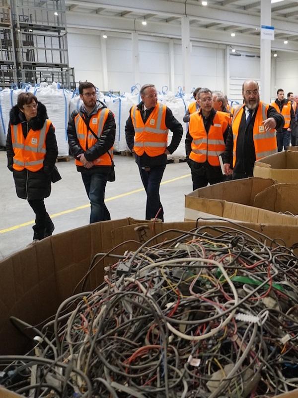 Arrancan las nuevas instalaciones de la planta de reciclaje de Aspace en Aoiz