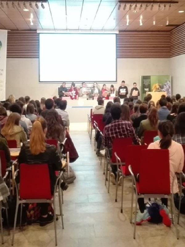 Escolares vascos reflexionan sobre el cambio climático en la Euskal Confint