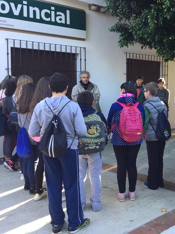Programa educativo ambiental del Vivero Provincial de Málaga