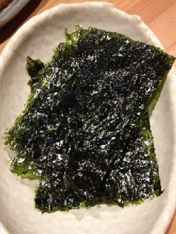 Algas dietéticas y muy saludables