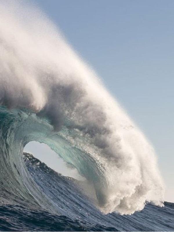 Una ola monstruosa de 23,8 metros, registrada al sur de Nueva Zelanda