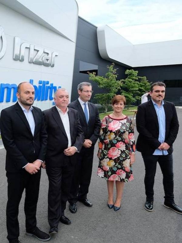 España alberga la primera planta de electromovilidad europea
