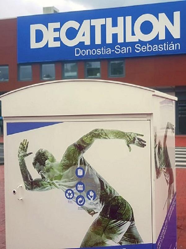 Decathlon con el reciclado de material deportivo