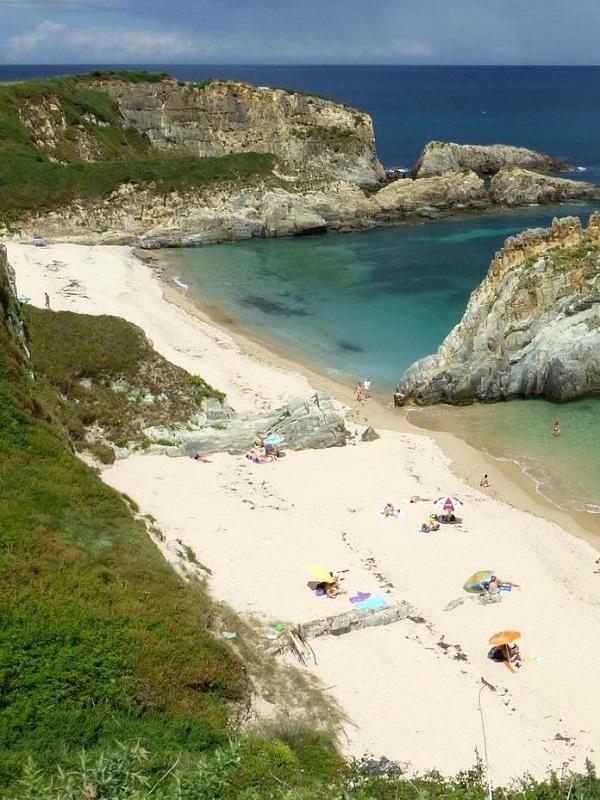 La playa asturiana de Peñarronda acoge una jornada de educación ambiental