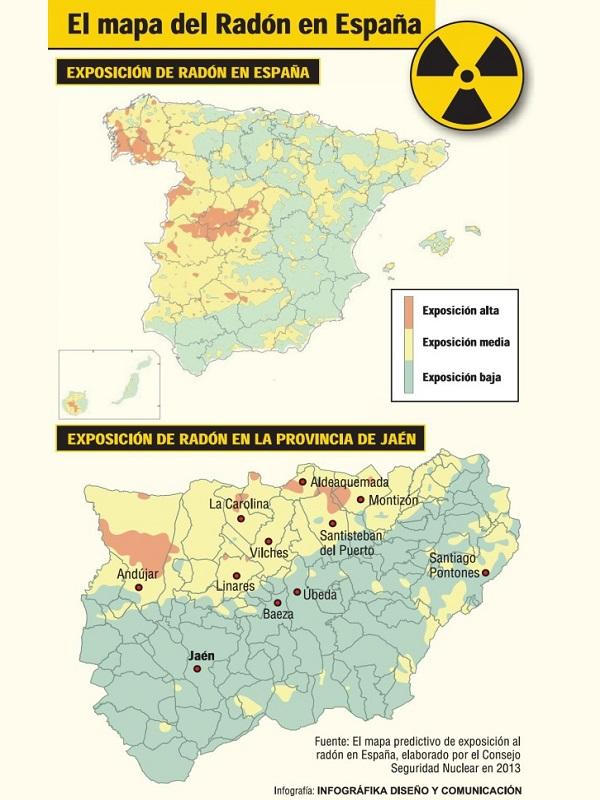 España pasa de la directiva europea de radiaciones ionizantes y del plan nacional de radón que ni está ni se le espera