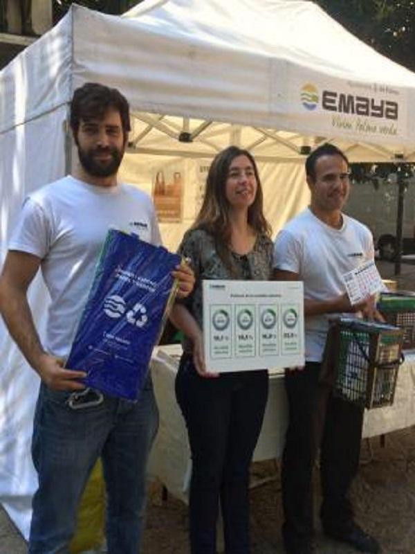 Palma de Mallorca avanza con paso firme en la recogida selectiva de residuos