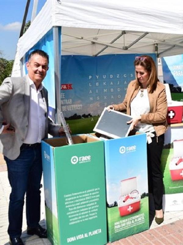 Andalucía participa en la campaña Dona Vida al Planeta para reciclar aparatos eléctricos y electrónicos