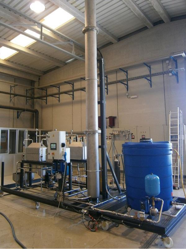 Agua electrolizada para reemplazar uso de cloro
